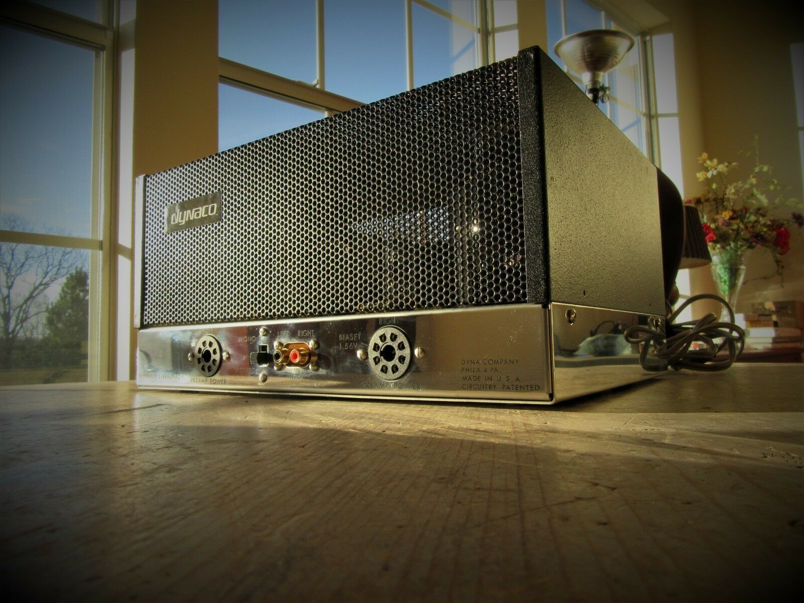 New Dynaco ST-70 Stereo Tube Amp - Built with Vintage Dynaco