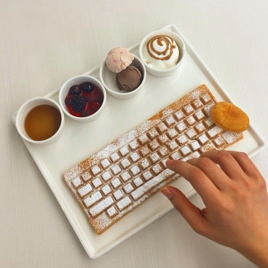 Photo of This Keyboard Waffle Is The Only Keyboard We Ever Want to Use