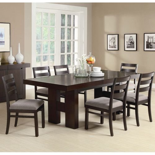 Found It At Wayfair Charterhouse 7 Piece Dining Set Dark Wood Dining Table Rectangular Dining Room Table Dining Room Furniture Sets Wayfair dining table and chairs