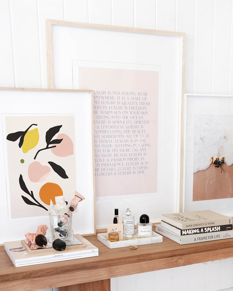 Luxury — STUDIO JASMINE Luxury, Gallery wall, Fruit collage