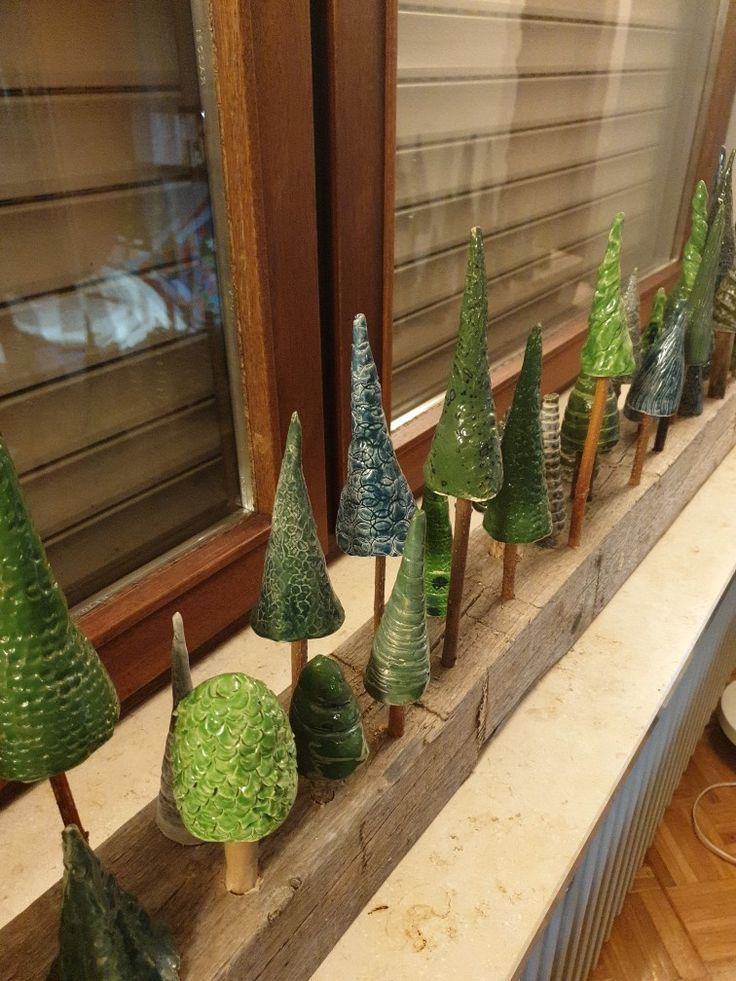 Photo of Clay fir trees