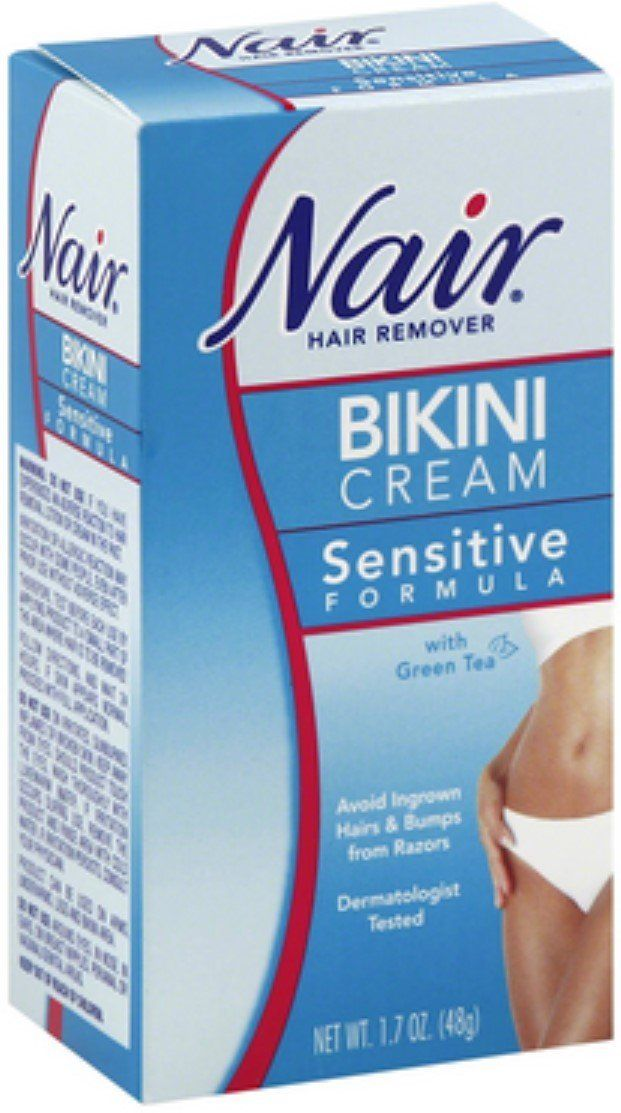 Nair Hair Remover Bikini Cream With Green Tea Sensitive Formula