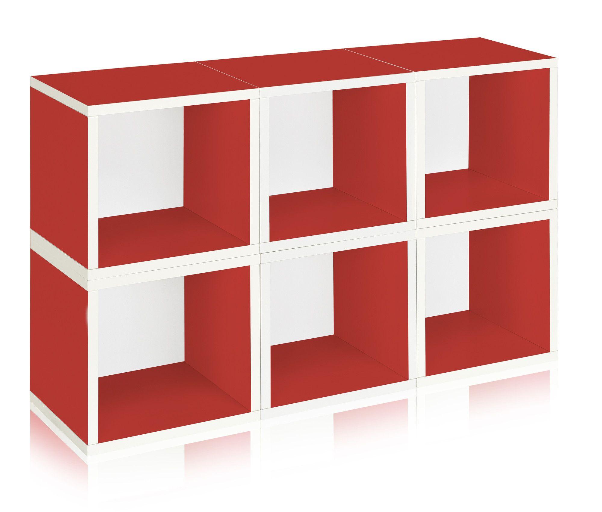 zBoard Storage Stackable and Modular Organizer 26  Cube Unit Bookcase  sc 1 st  Pinterest & zBoard Storage Stackable and Modular Organizer 26
