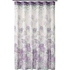 Home Classics Francesca Fabric Shower Curtain Purple Gray