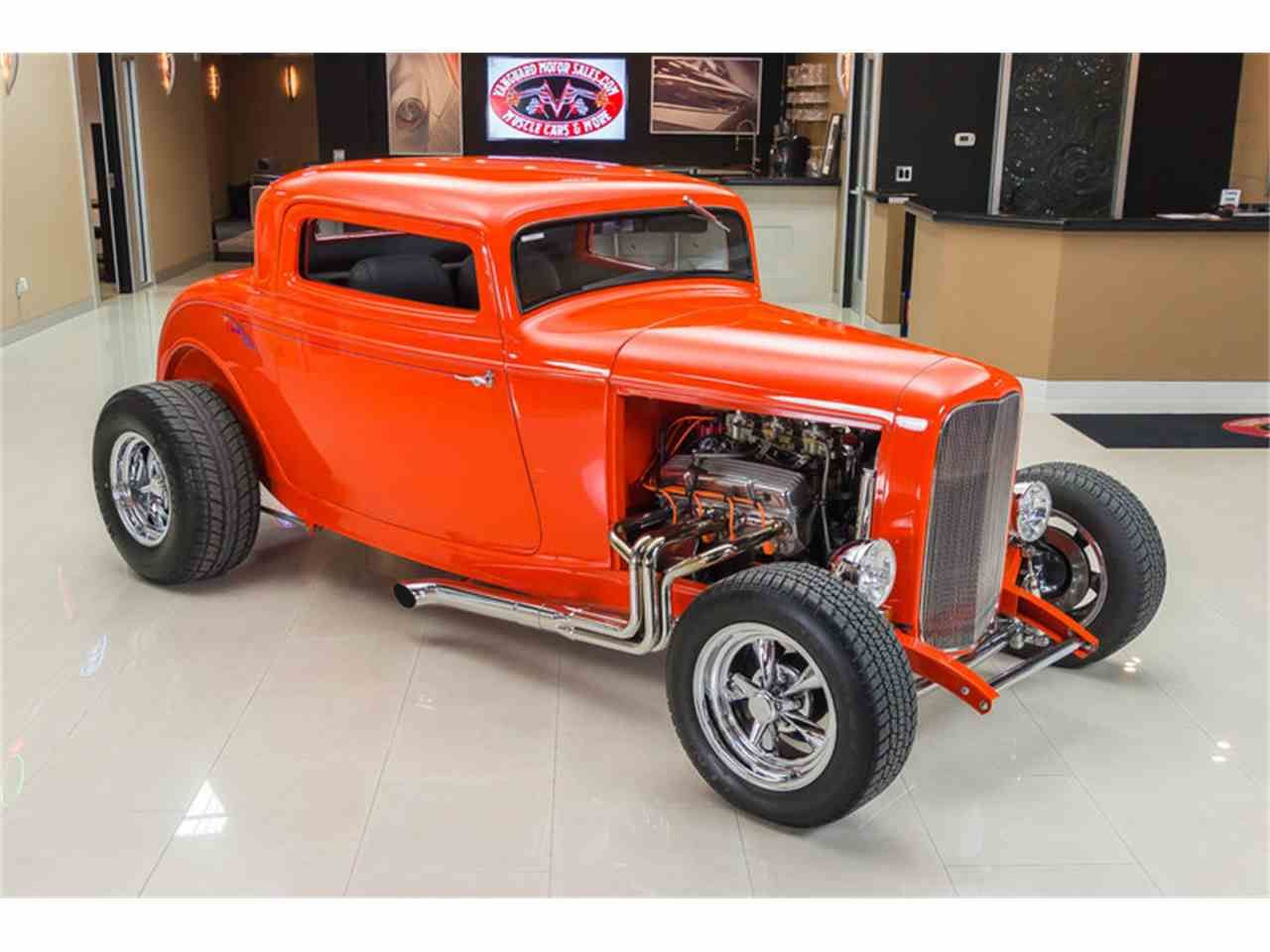 custom hot rod designs | 1932 Ford 3-Window Coupe Street Rod for ...