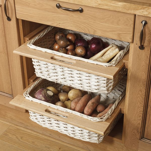 Our wicker storage drawers are perfect for a country ...