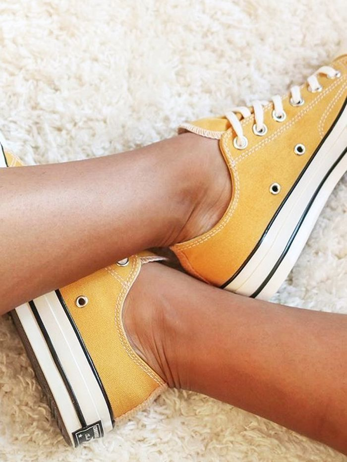 Converse all star chuck taylor Yellow, Women's Fashion