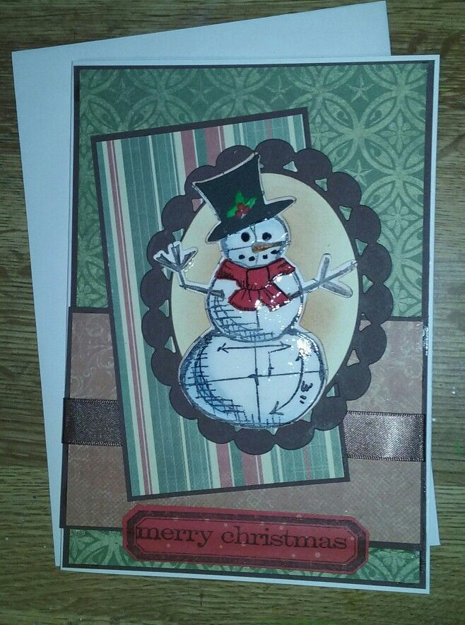 Manly Christmas cards Tim Holt snowman die Christmas Ideas