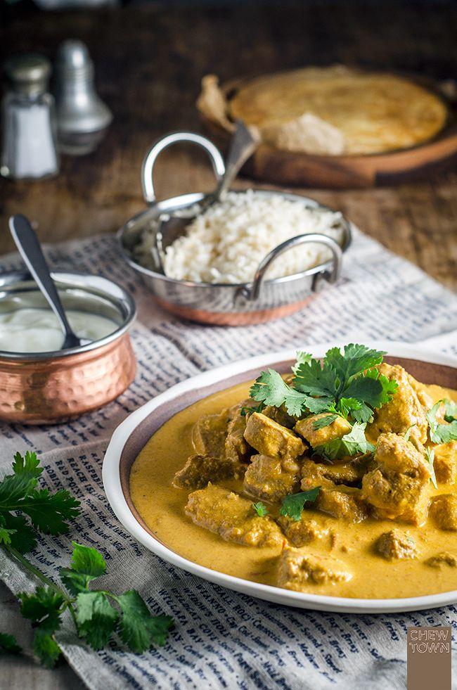 Pork Tikka Masala Curry | Chew Town Food Blog