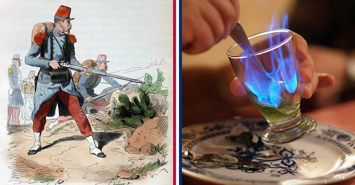 Best medics ever these docs gave absinthe military