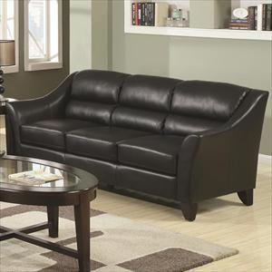 Contemporary Black Sofa Nebraska Furniture Mart Furniture