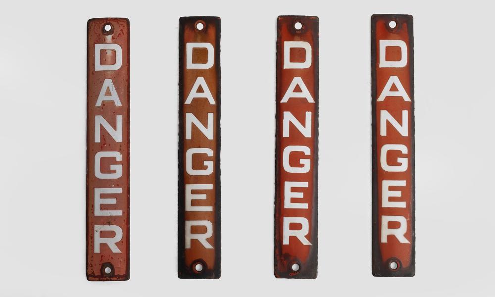 """Danger"" Signs Obsolete in 2020 Danger signs, Signs"