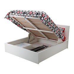 Mobilier Et Decoration Interieur Et Exterieur Lit Coffre Blanc Lit Coffre Et Lit Ikea