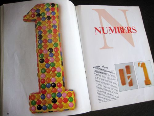 Number 1 birthday cake recipe by ishandchi via Flickr kid stuff