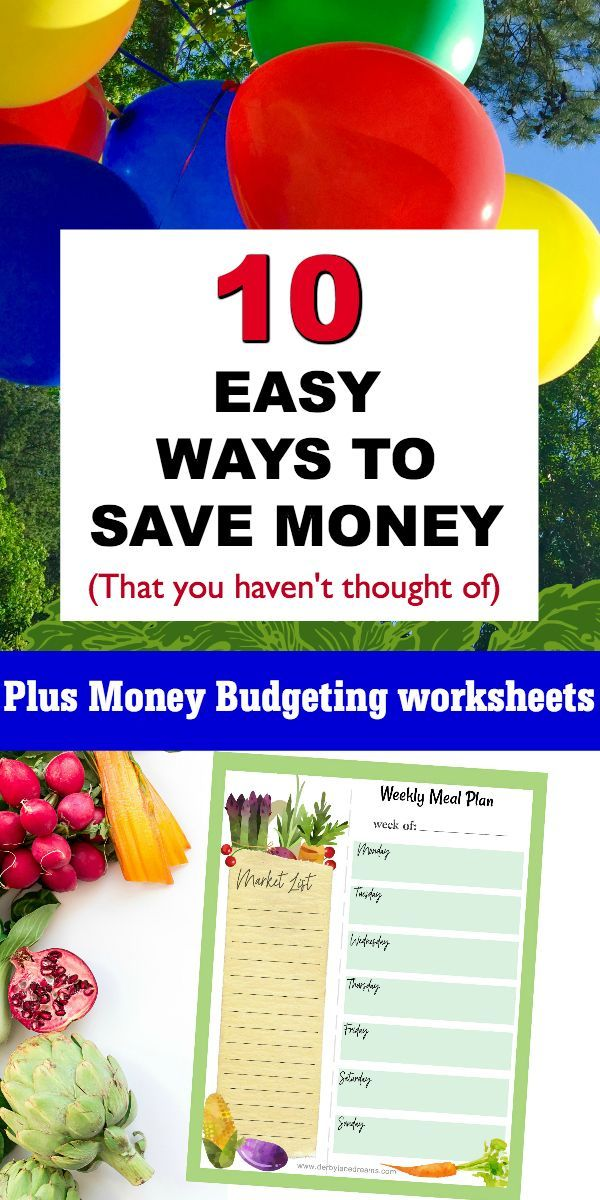 10 Fast and Easy Ways to Save Money, Best Ways to Save Money