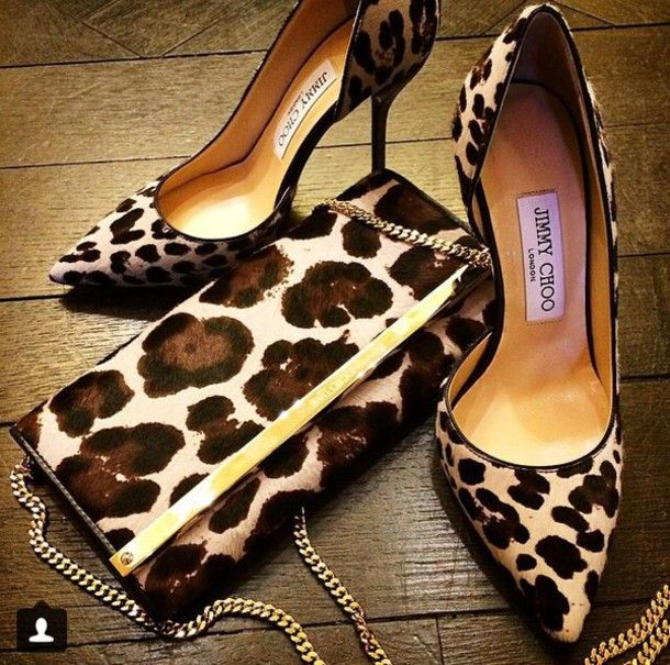 50141d1ffacc shoes animal print high heels lepoard print high heel pumps | Great ...