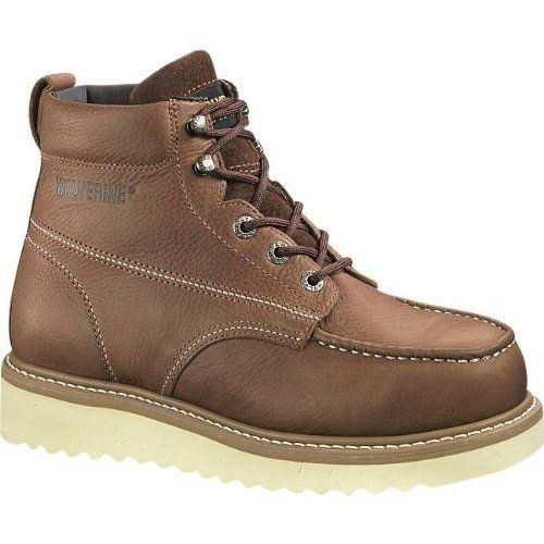 a969dc51be9 Wolverine Men's W08289 Steel Toe Boot Wolverine. $98.11. Crepe Sole ...