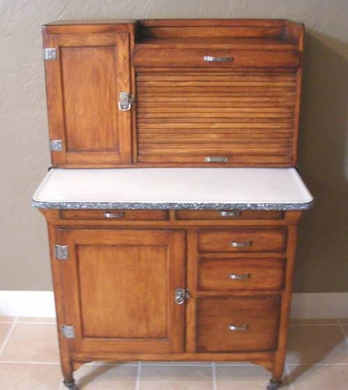 Sellers Kitchen Cabinet: Sellers Oak Kitchen Cabinet Small Rare Size 1922 By