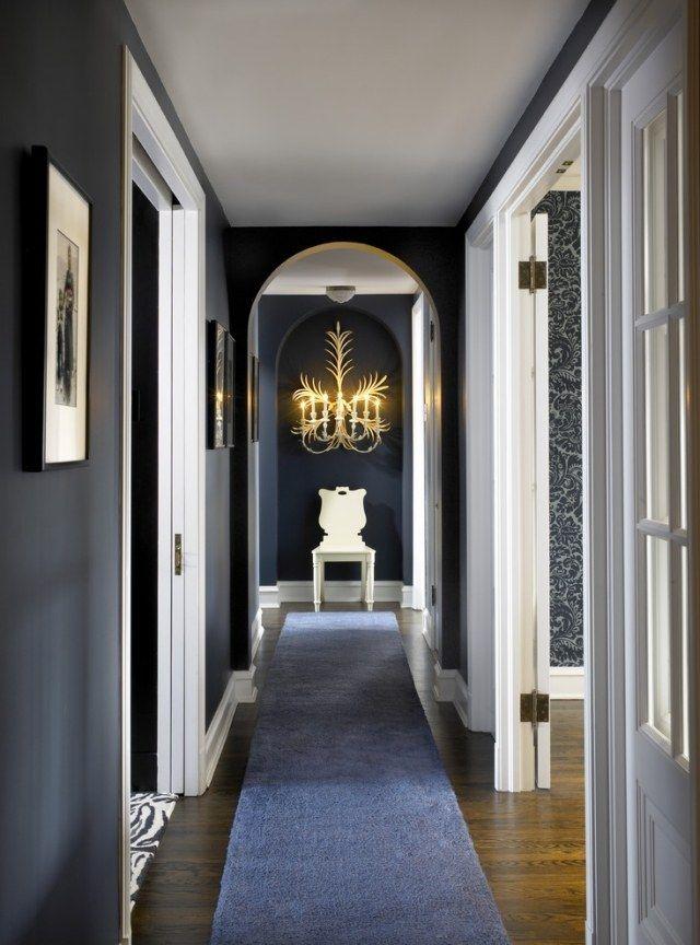 Déco couloir et entrée 22 inspirations sélectionnées pour vous - deco peinture entree couloir