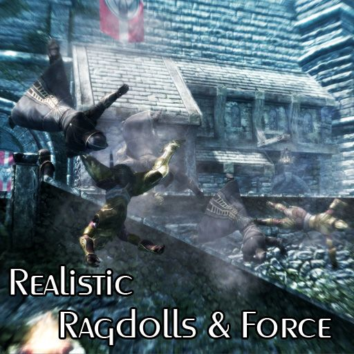 Realistic Ragdolls And Force Skyrim Skyrim Special Edition Mods