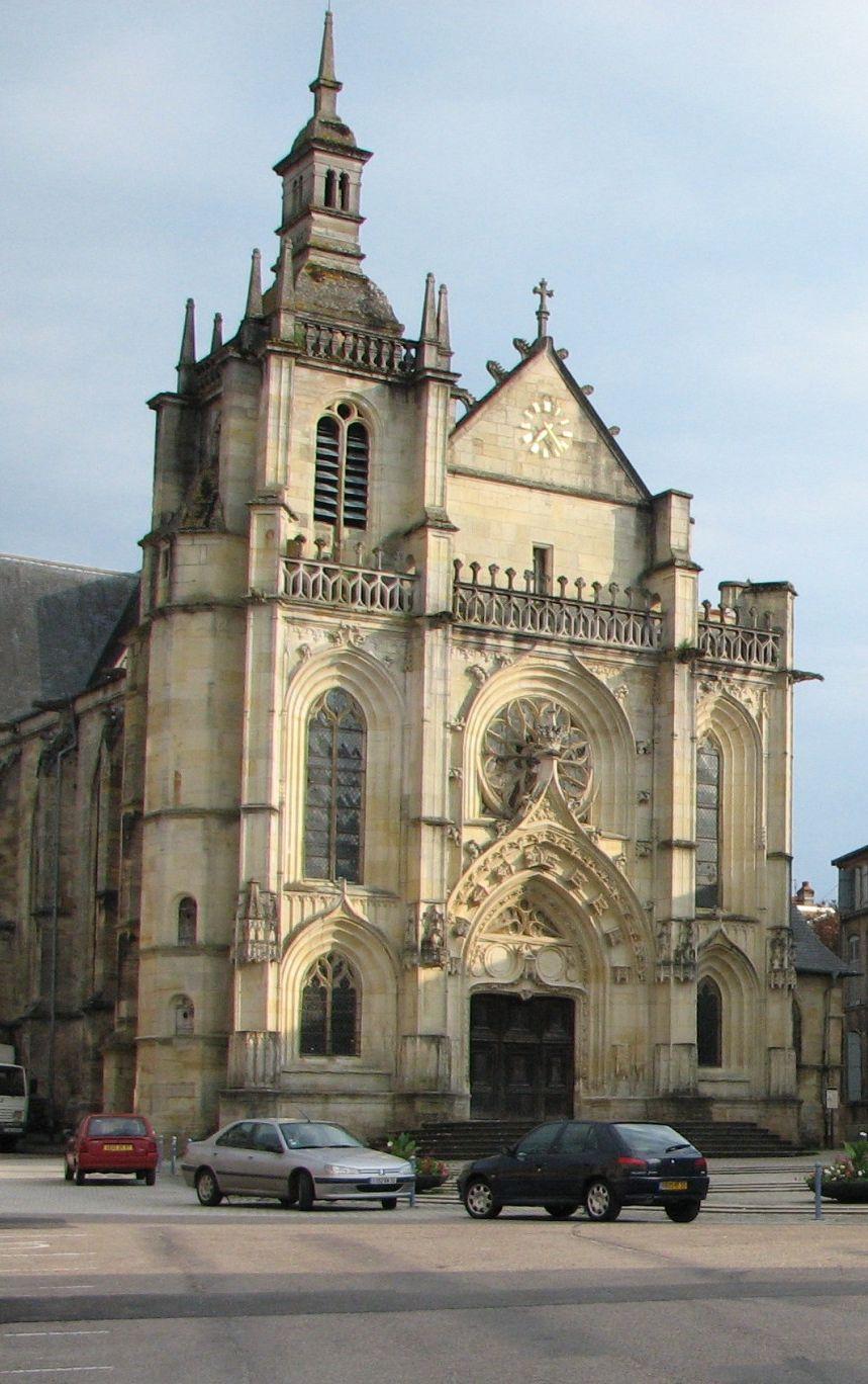 Saint-Étienne Church, Bar-le-Duc, Lorraine