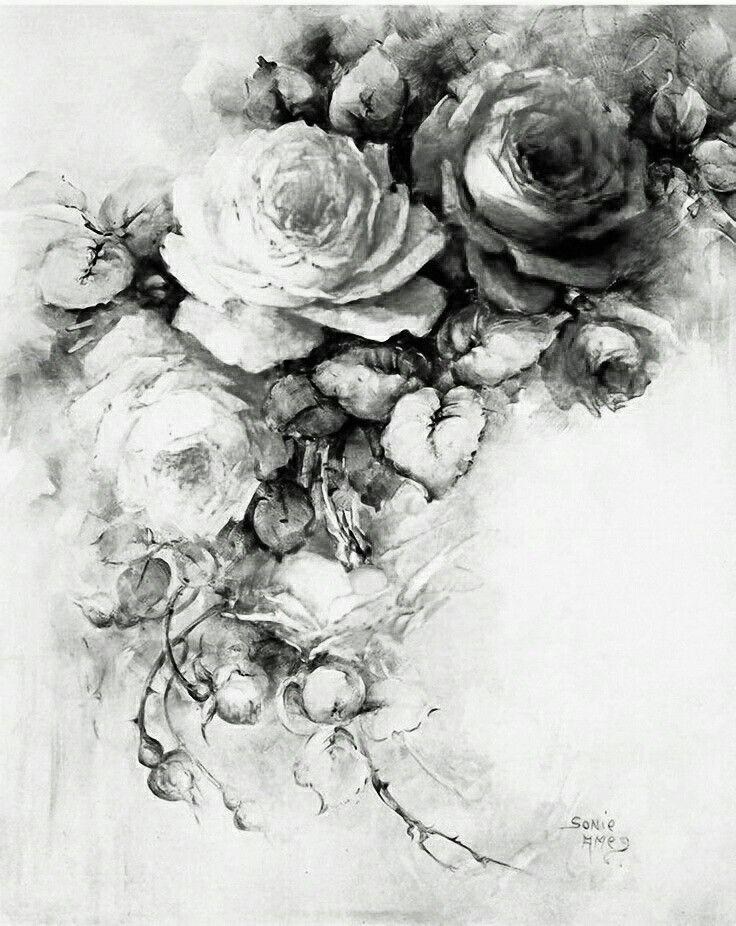 Vintage Floral Tattoo Ideas Vintage Floral Tattoos Floral Tattoo Vintage Tattoo
