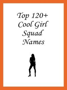 Photo of Team Names for Girls