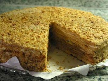 Medovnik Honigkuchen Rezept Rezepte Torten Pinterest