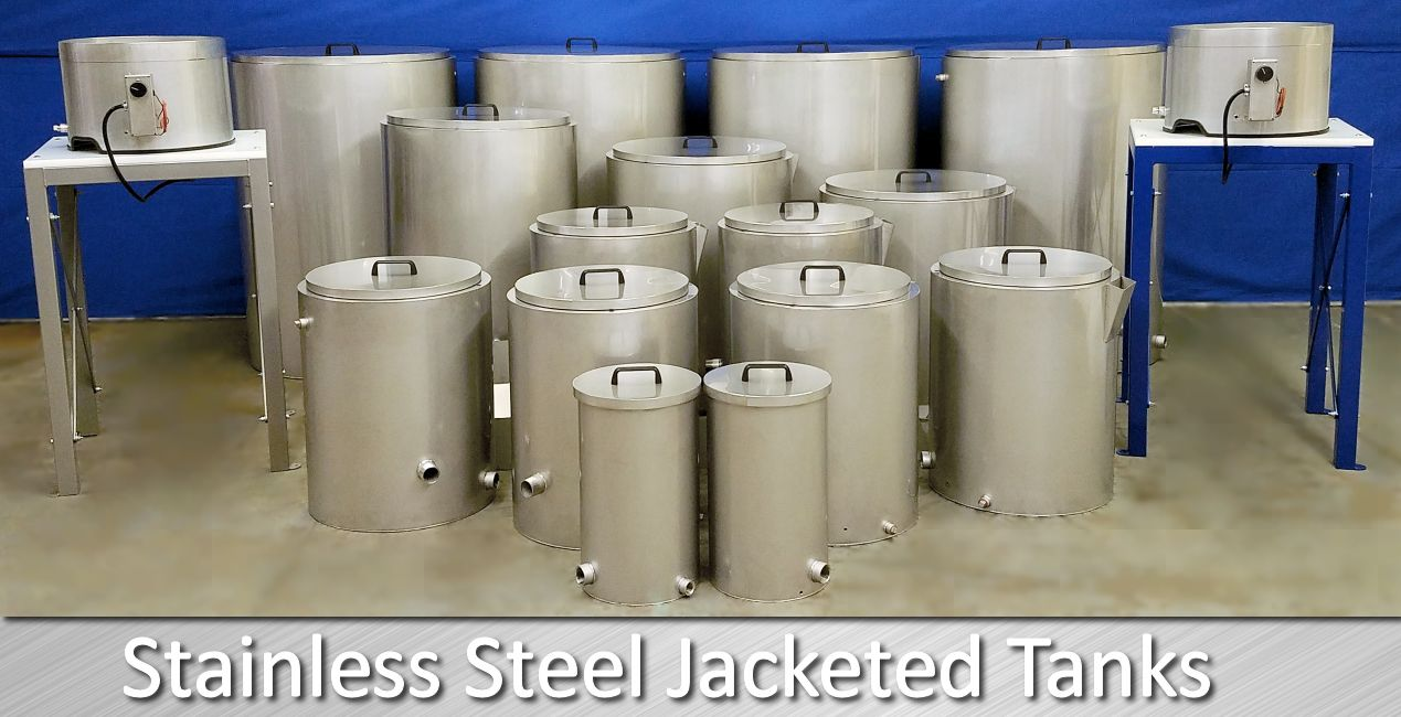 Stainless Steel Tanks For Soap Making 8 Stock Sizes Stainless Steel Tanks Stainless Steel Stainless