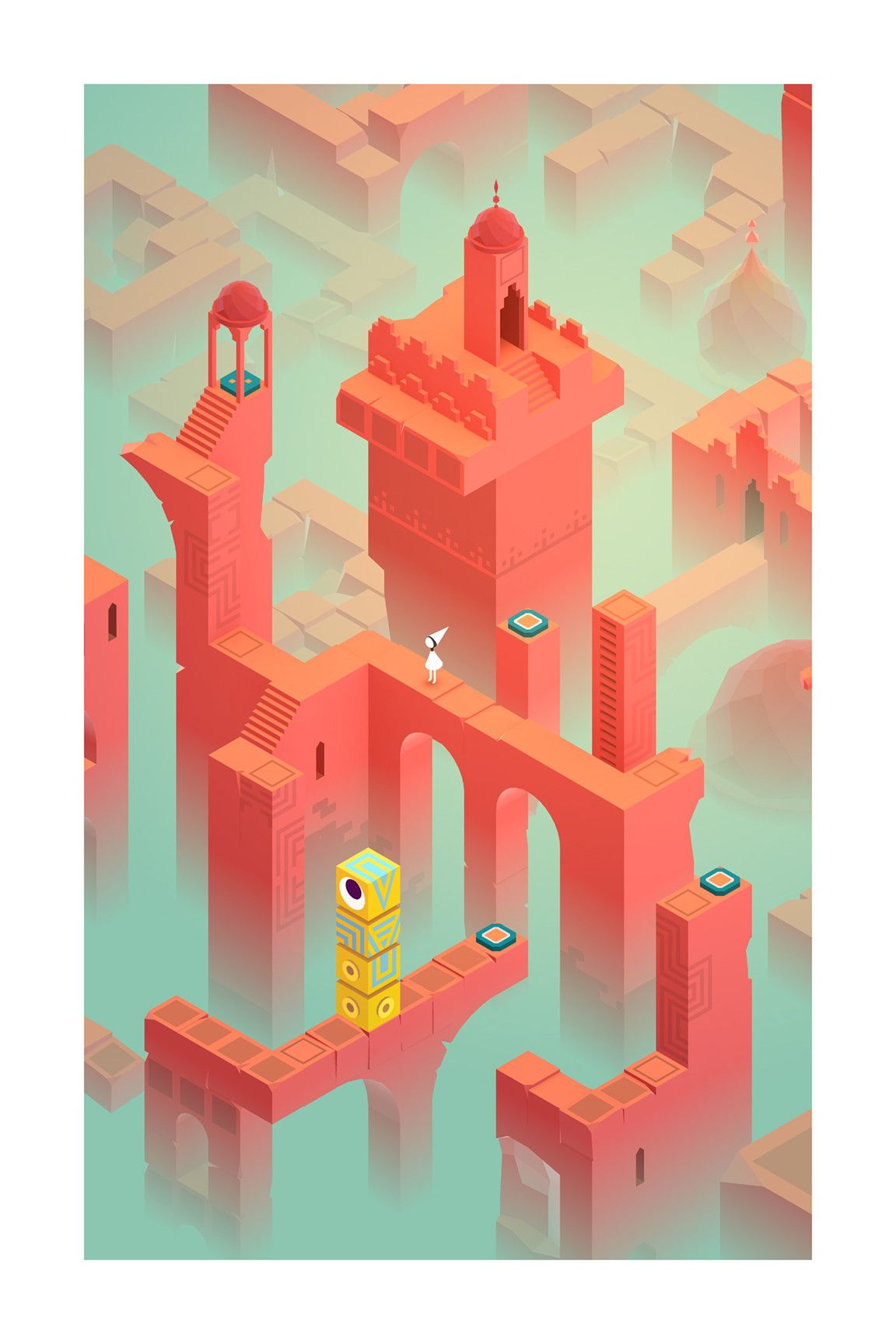 Fort With Images Monument Valley App Monument Valley Game