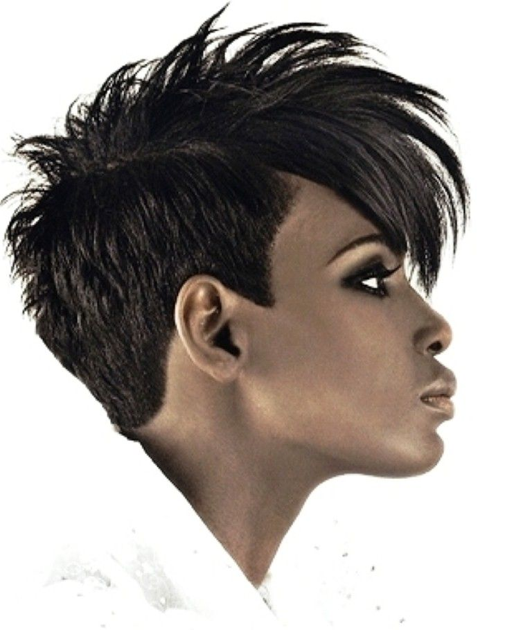 Black Girl Curly Mohawk Hairstyles Mohawk Hairstyles For