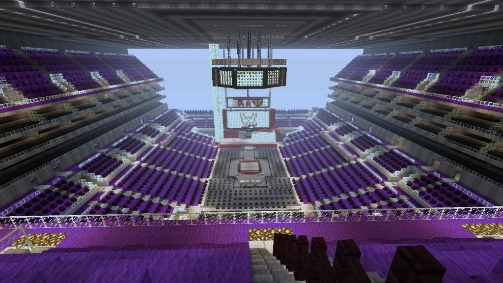Minecraft Fußballstadion Bauplan