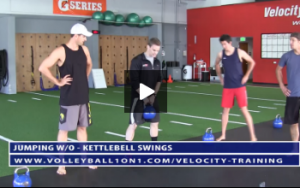 Http Www Volleyball1on1 Com Kettlebell Swings Gobler Squat Rdl Stretch Trx Ytw Rows Velocity Workout 2 Jum Volleyball Workouts Trx Workouts Volleyball Drills