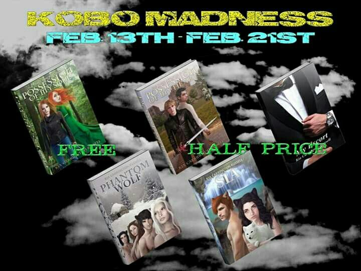 KOBO MADNESS!  ((((Free on some Cheap on others )))) #kiasdarkwarriors  HAS Kia Carrington-Russell GONE MAD!!!  OMG HER BOOKS ARE EITHER FREE OR CHEAP  GET THEN KNOW BEFORE THE PRICE CHANGES!!!!  Purchase Links for Kia Carrington-Russell's Books  Possession Of My Soul. FREE  Amazon- http://www.amazon.com/Possession-Soul-Three-Immortal-Blades-ebook/dp/B00KBB0B2K/ref=pd_sim_sbs_kstore_2?ie=UTF8&refRID=1GJCVCTBGKEV6967PMBZ Barnes and Noble…