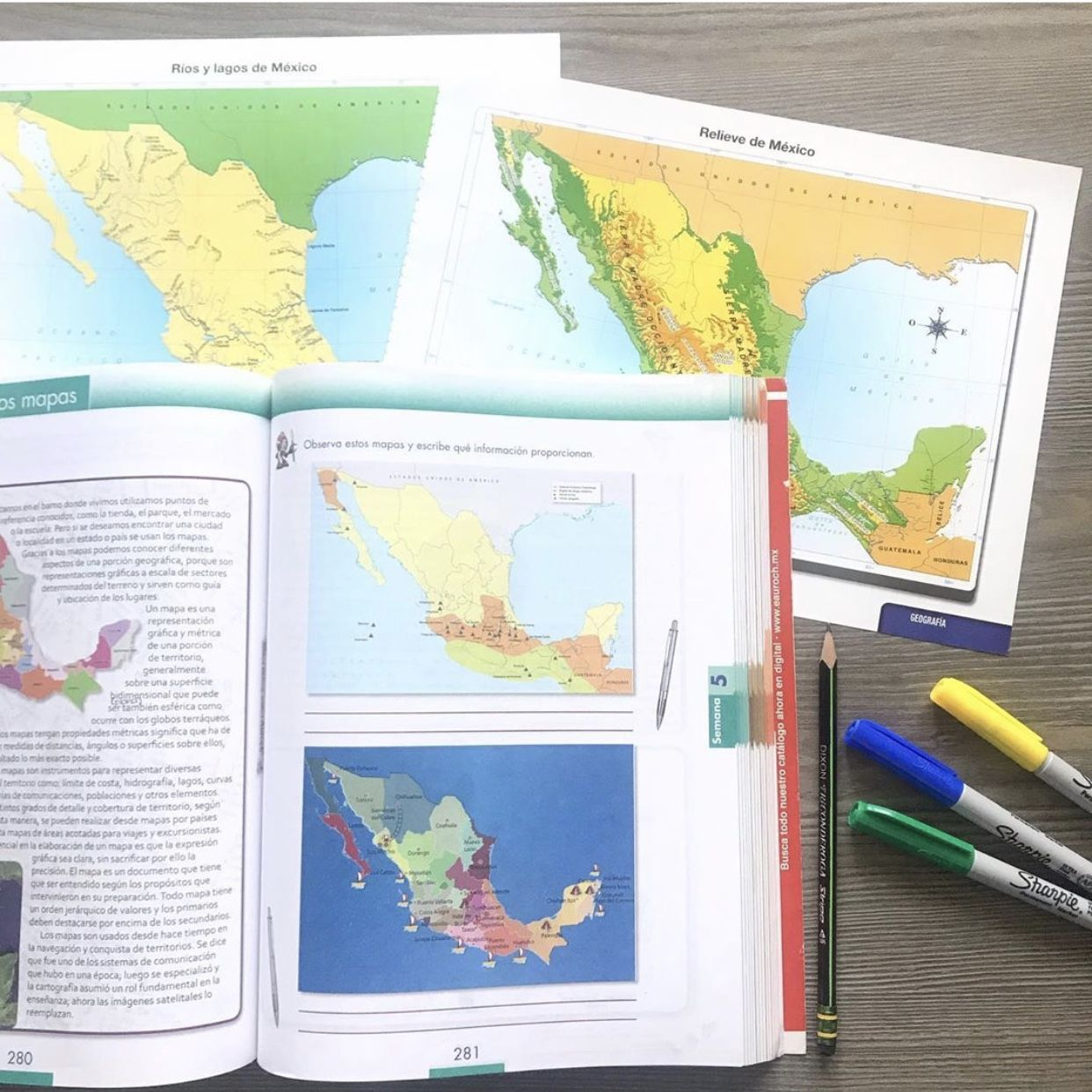 Para Qué Sirven Los Mapas Homeschool Mexico