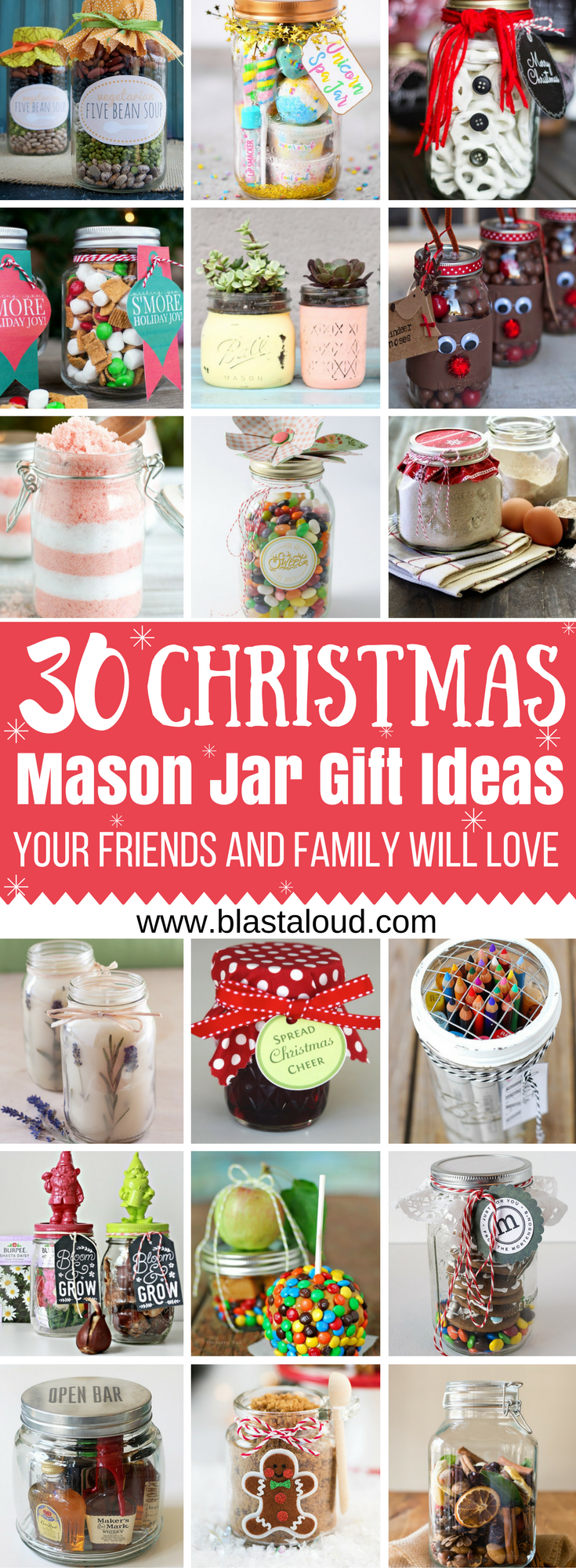 30 Mason Jar Gift Ideas For Christmas That People Will Actually Love ...