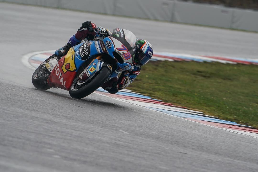 FP1-P5. 🌧☔ #CzechGP #Moto2