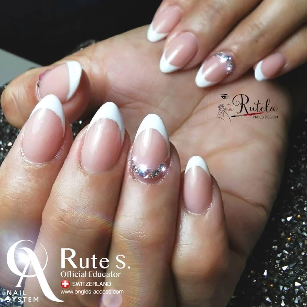 French Nails Nagel Ongles Unhas Acrylnagel Acrylic Resine Natural French Glamour Elegance Almomd Nailaddict Nails2inspir Nails Beauty Blogspot