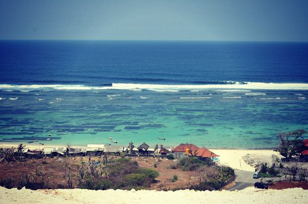 Secret Beach in Bali. So much inspiration from the gorgeous island. – ELF