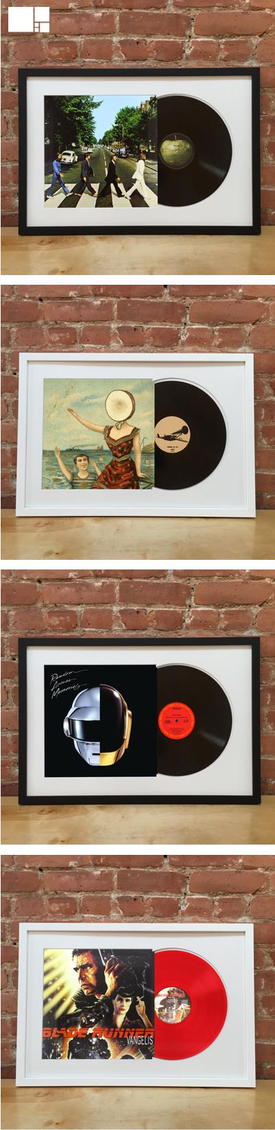 Framed Vinyl Albums   Vinilos, Tocadiscos y Vinil