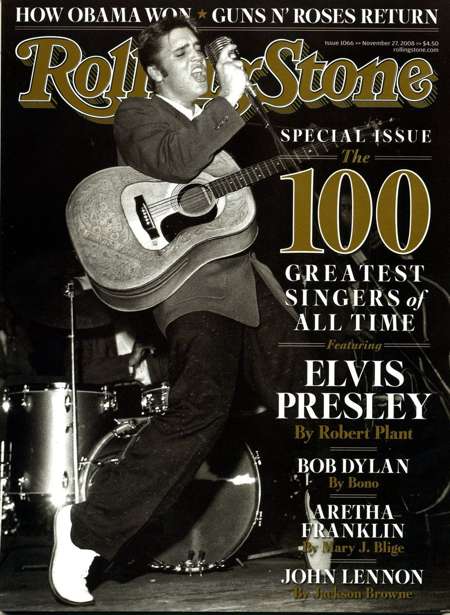 Elvis Presley 100 Greatest Singers of All Time 2008
