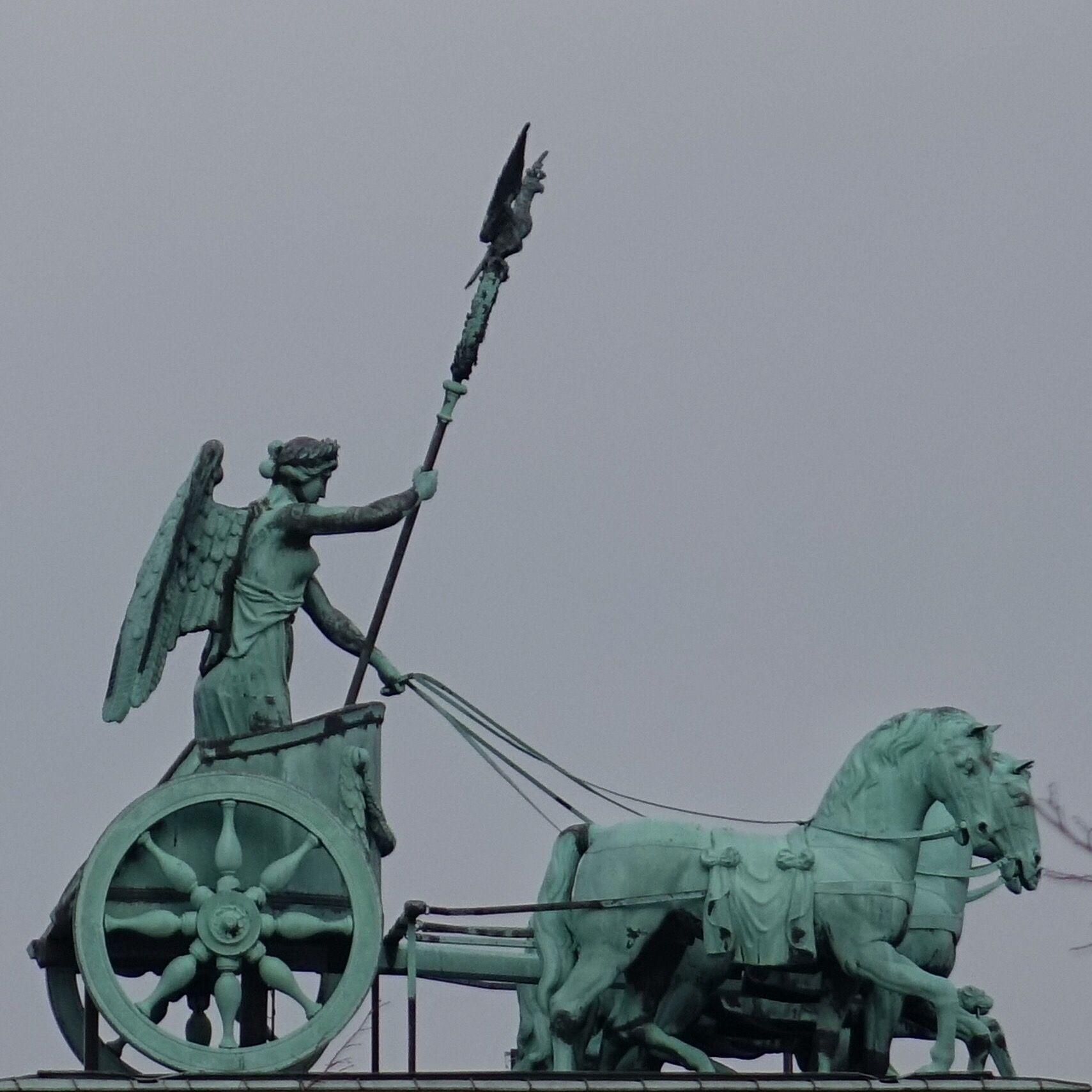 Berlin Deutschland Quadriga Auf Dem Brandenburger Tor Berlin Brandenburger Tor Deutschland