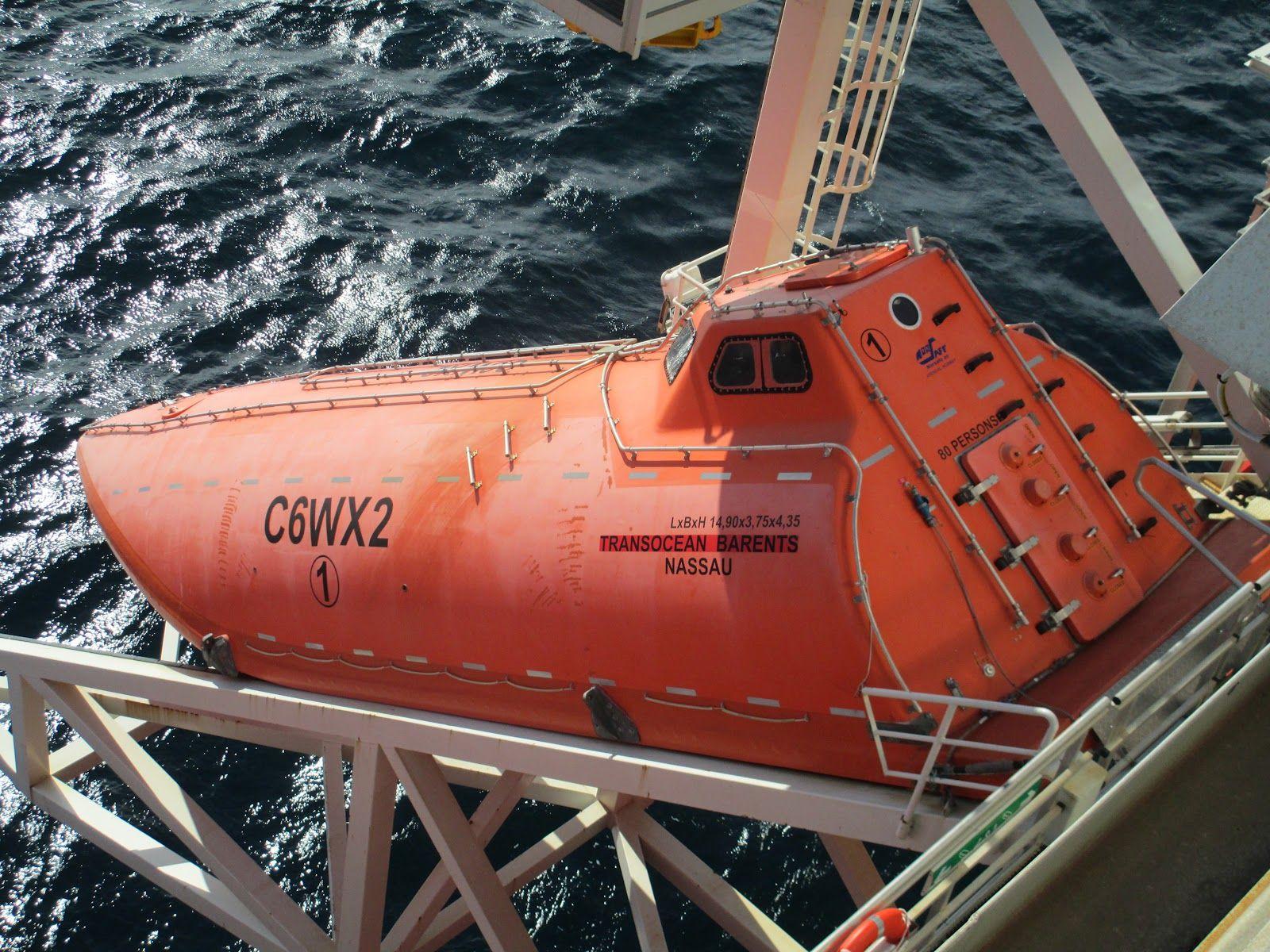 Offshore Oil Rig Escape