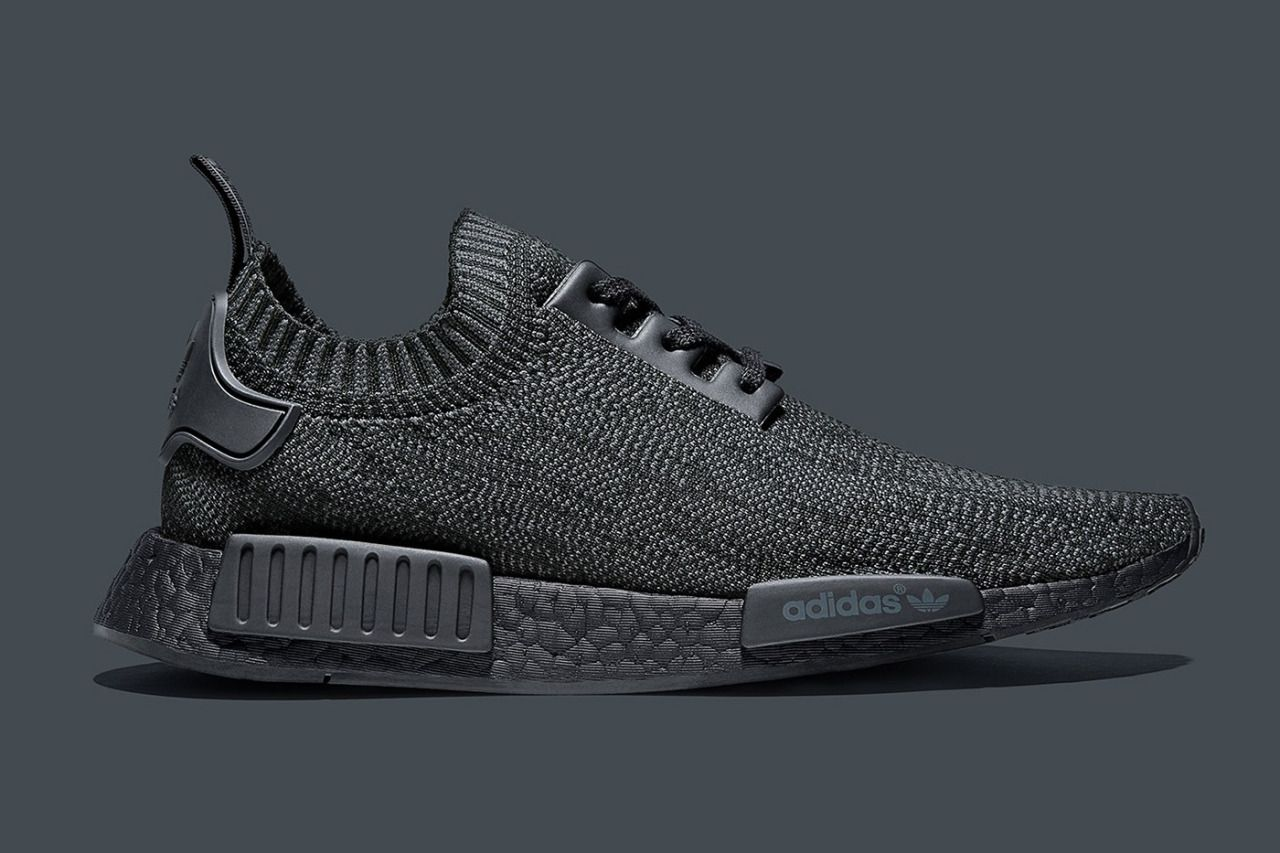 1116ca8d546bd adidas Originals Reveals the Ultra-Rare NMD_R1 PK 'Pitch Black' (via ...