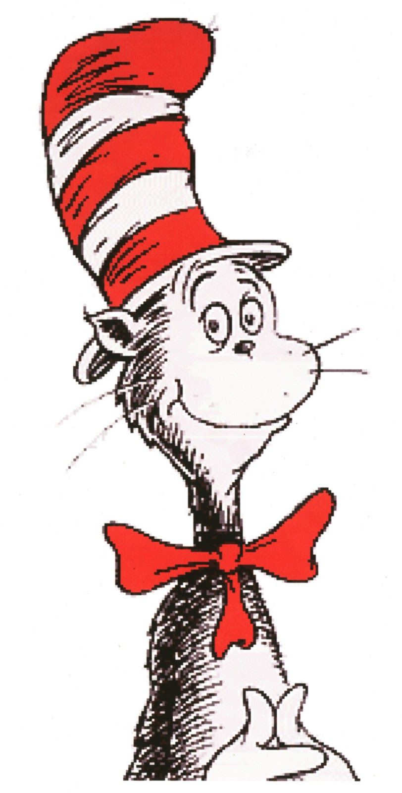 Free Cat In The Hat Clip Art | cat_in_the_hat%2C_white_background ...