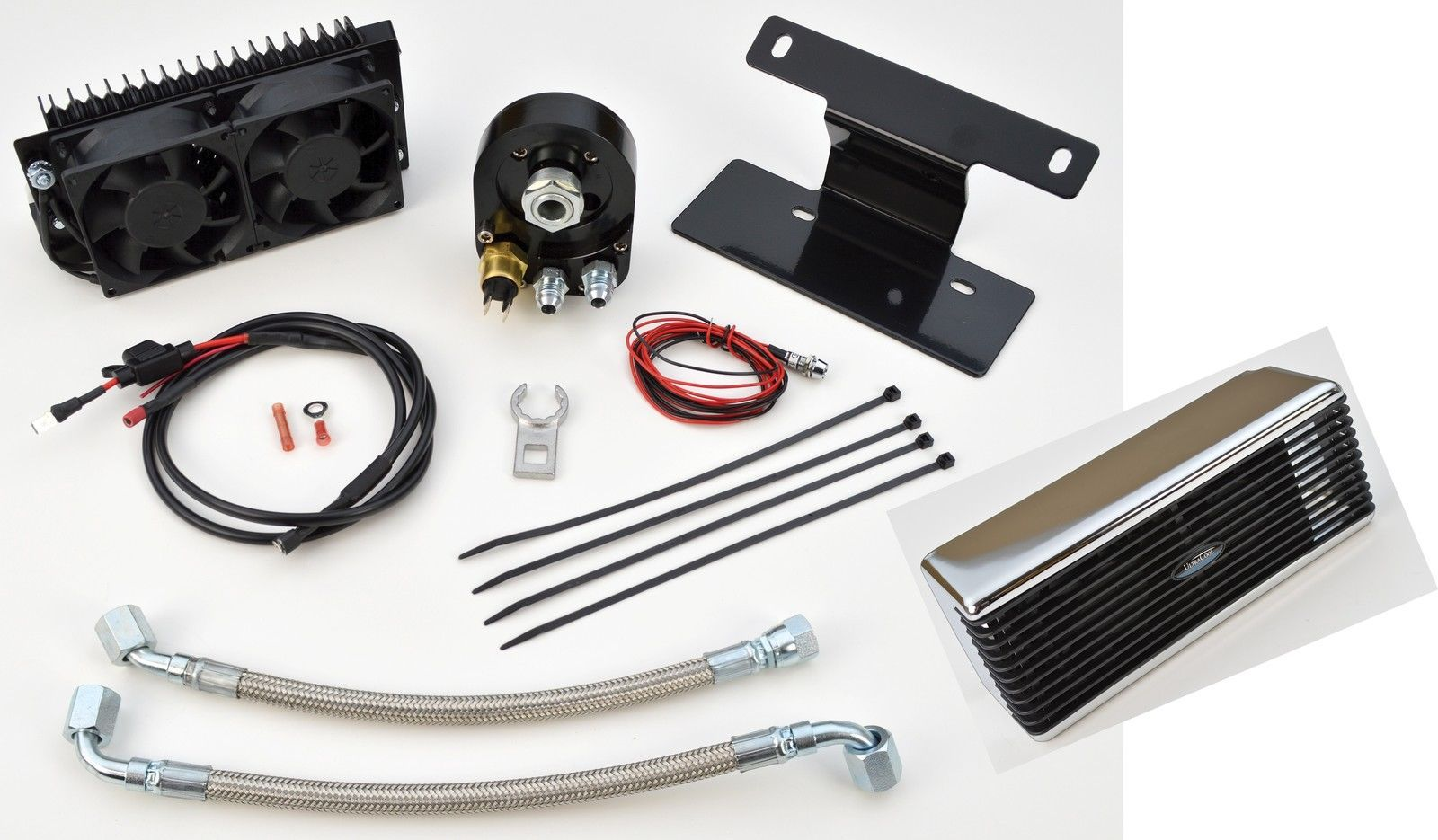 Ultracool Chrome The Reefer Oil Cooler Fan Engine Cooling System