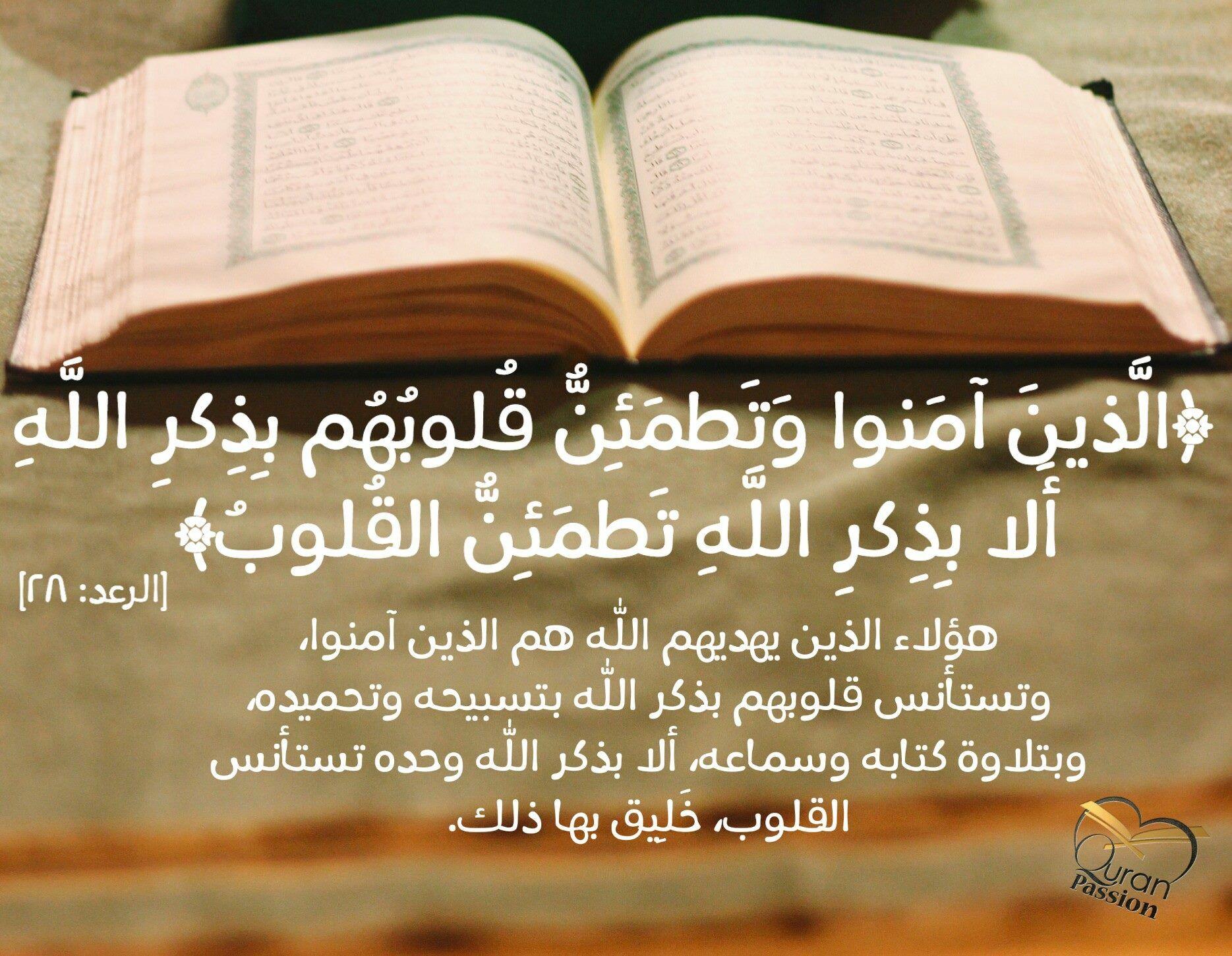 هؤلاء الذين يهديهم الله عاشق للقرآن احد معجبين صفحتنا Quran Passion Personalized Items