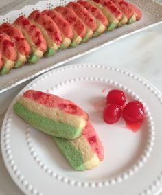 Italian Spumoni Cookies