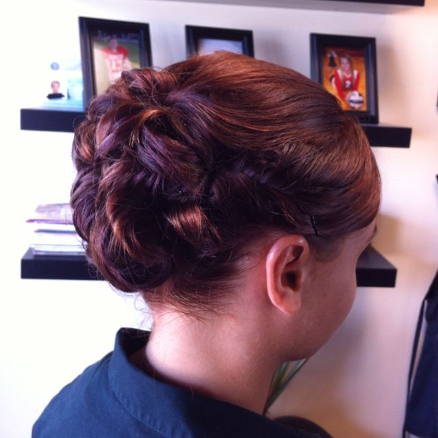Wedding Party Hairstyle For Thin Hair: Hair By Shay Lowery At Salon Lofts