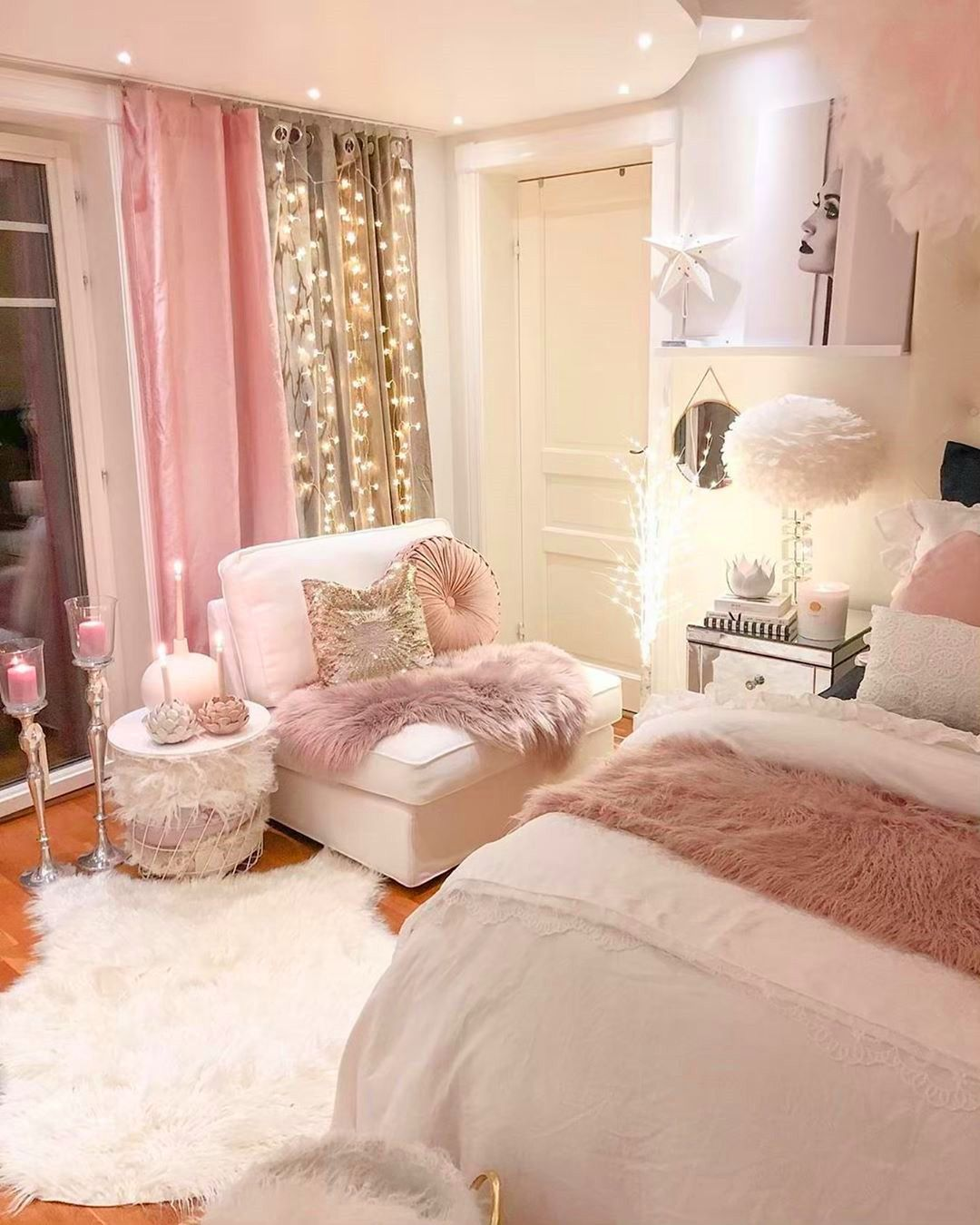 58 Inspiring Modern Bedroom Design Ideas In 2020 Girl Bedroom Decor Bedroom Decor Stylish Bedroom
